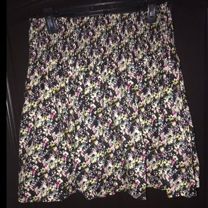 H&M Floral Mini Skirt